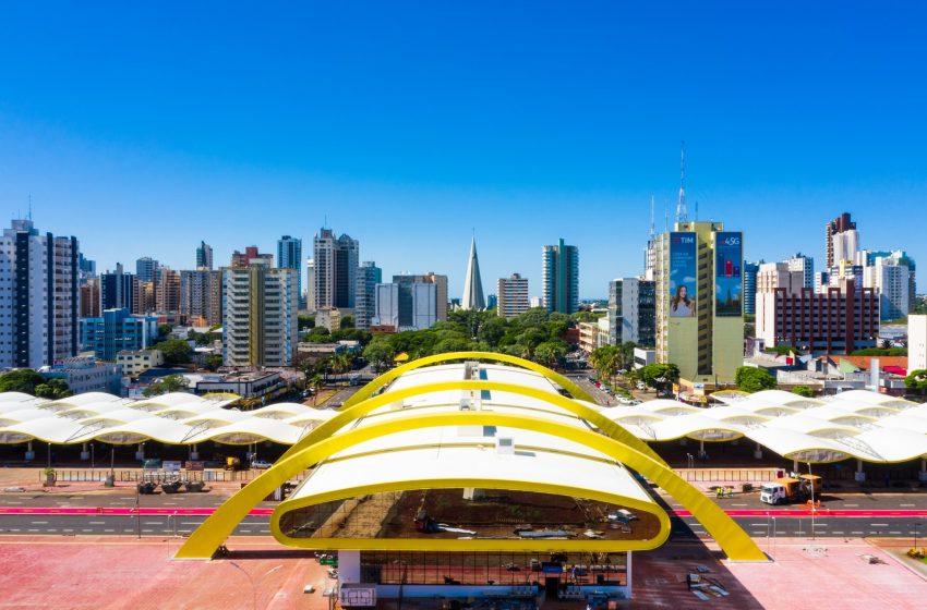 Novo terminal urbano de Maringá começa a funcionar; entenda as áreas de embarque