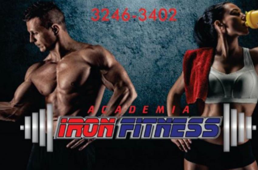 Academia Iron Fitness (44)98406-4068